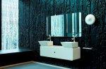 Łazienka glamour czy mat?