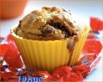 Muffiny z batonikami Daim