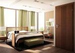 Aranżacja sypialni z wykorzystanie drzwi ASTRO LUX model W9