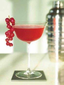 Silent martini cocktail