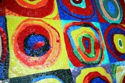 Mozaikowe obrazy