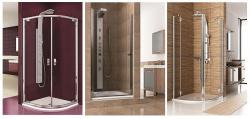 Eleganckie kabiny prysznicowe