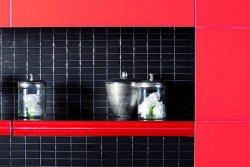 Gramy światłem – łazienka w brokacie