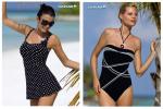 Elegancja na plaży – stroje kąpielowe w stylu lat 60-tych