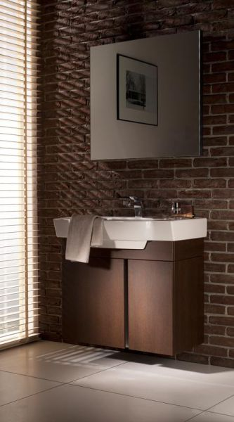 Industrialna łazienka w lofcie
