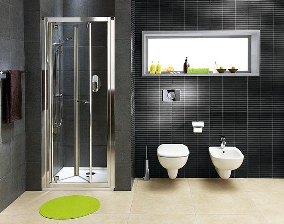 Kąpiel w kwadratowej kabinie KOŁO