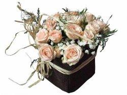 Różany bukiecik