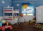 Fotorolety  w dziecięcym pokoju